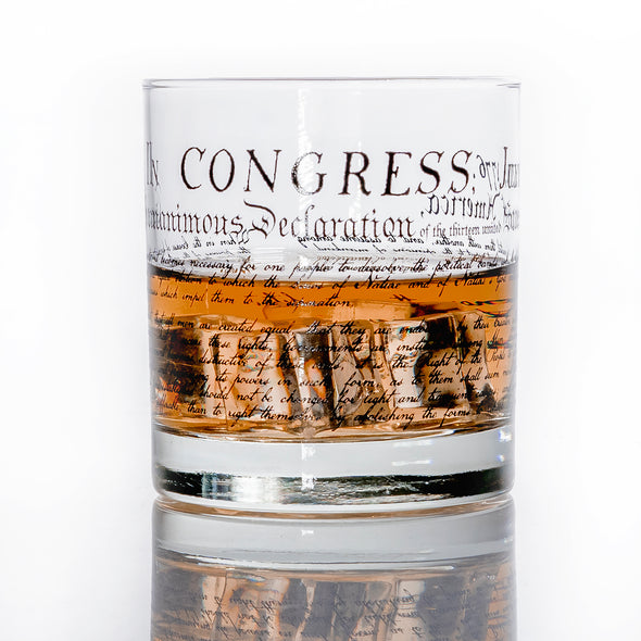 Whiskey Glass - Declaration of Independence