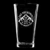 Pint Glass - Gods Guns Guts Made America Free