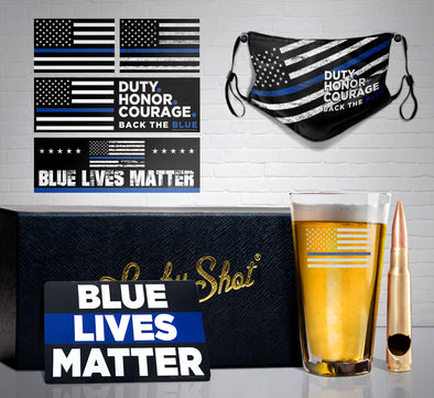 Thin Blue Line Pint Gift Set