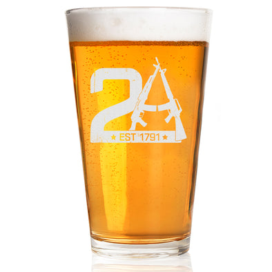 Pint Glass - 2A Est 1791