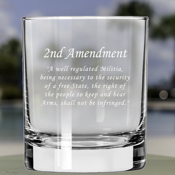Whiskey Glass - 2nd Amendment