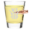 .308 Bullet Shot Glass - We Are the Second