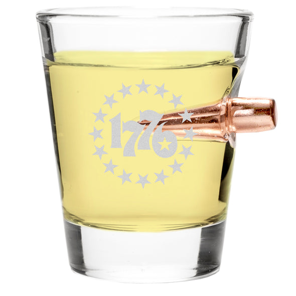 .308 Bullet Shot Glass - 1776