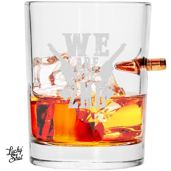 .308 Bullet Whiskey Glass - We Are the Second