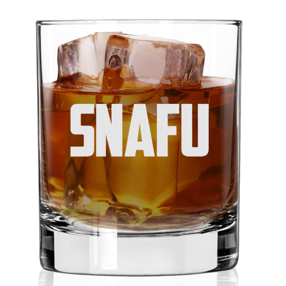 Whiskey Glass - SNAFU