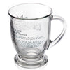 Glass Mug - Declaration of Independence