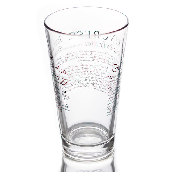 Pint Glass - Declaration of Independence