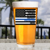 Pint Glass - Protector Flag Thin Blue Line