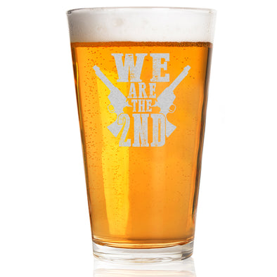 Pint Glass - We Are the Second
