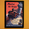 Playing For Keeps World War II Poster