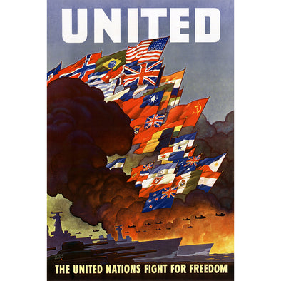 United World War II Poster