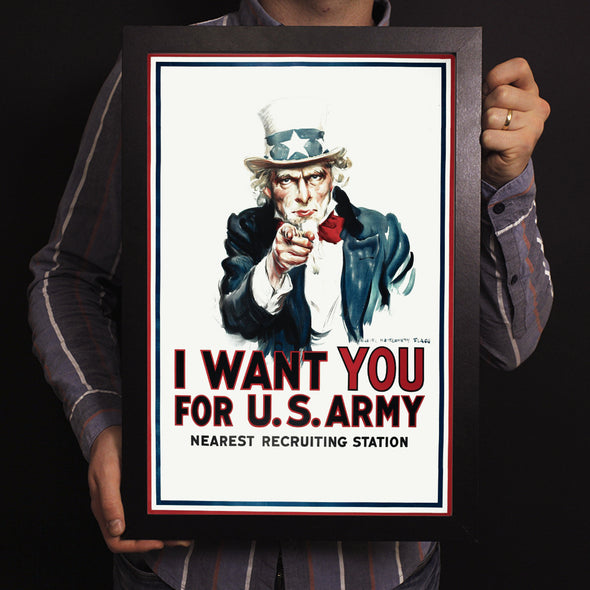 I Want You For U.S. Army World War II Poster