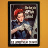 Do The Job He Left Behind World War II Poster