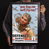 You Buy'em We'll Fly'em World War II Poster