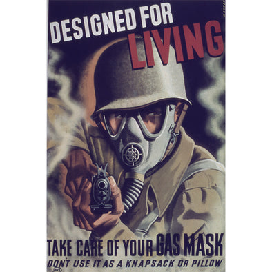 Designed for Living World War II Poster