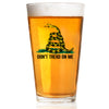 Don't Tread On Me - Color - Pint Glass