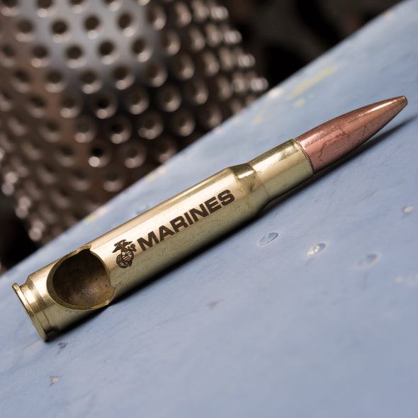 Marine Corps .50 Caliber Bottle Opener in Brass