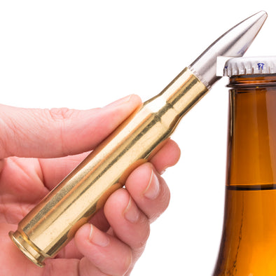 50 BMG Shark Bullet Bottle Opener