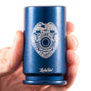 30MM A-10 Warthog Police Emblem Shot Glass - Blue