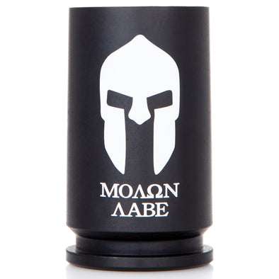 30MM A-10 Warthog Molon Labe Shot Glass - Matte Black