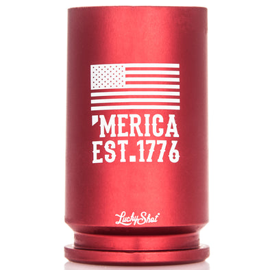 30MM A-10 Warthog Shell Shot Glass 'Merica EST. 1776