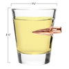 2 pack - Bullet Shot glasses