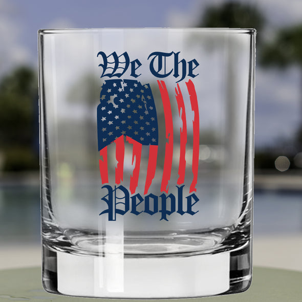 Whiskey Glass - We The People Draped