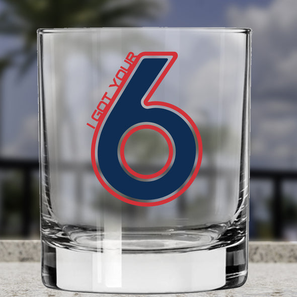 Whiskey Glass - I Got Your 6