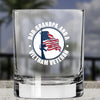 Whiskey Glass - Dad, Grandpa And Vietnam Vet