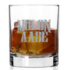 Whiskey Glass - Molon Labe Gray