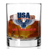 Whiskey Glass - USA Love it or Leave It