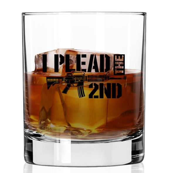 Whiskey Glass - I Plead the Second AR