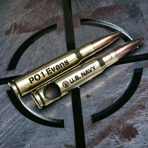 Brass US Navy .50 Caliber Bottle Opener