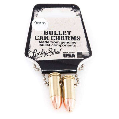 Bullet Car Charms - Available in Brass or Nickel