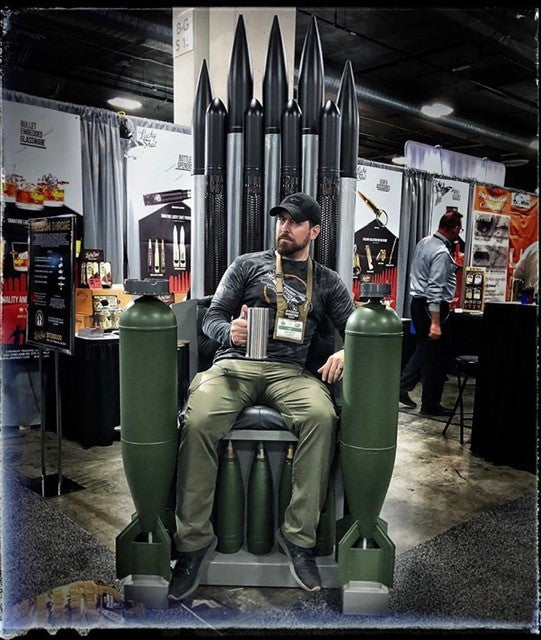 The Lucky Shot USA Freedom Throne As Featured At Shot Show 2020