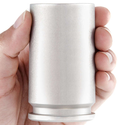 Genuine 30MM A-10 Cannon Shell Shot Glass - Aluminum