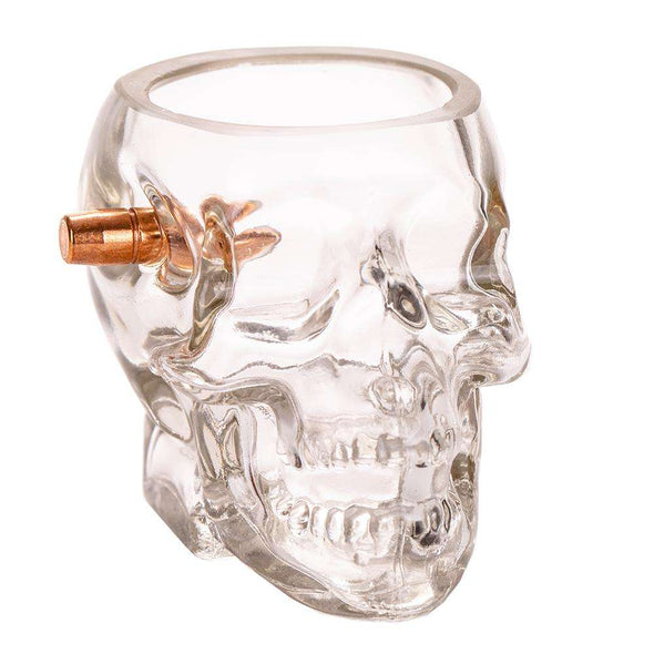 Headshot Shot Glass - Embedded with a Real .308 Bullet Set of 2
