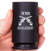 "30MM A-10 Warthog ""I'm Your Huckleberry"" Shot Glass - Black"