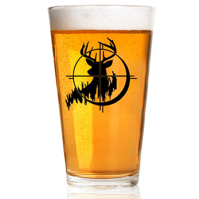 Pint Glass - Deer Scope
