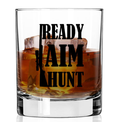 Whiskey Glass - Ready Aim Hunt