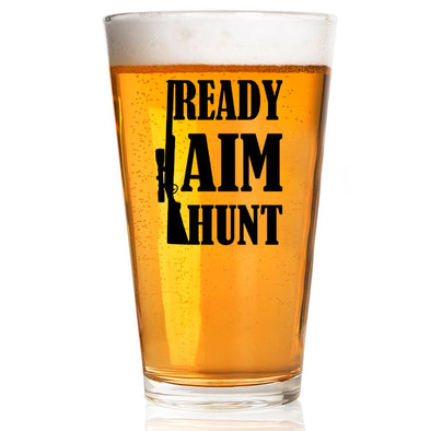 Pint Glass - Ready Aim Hunt
