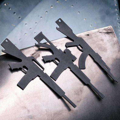 Rifle Bottle Opener Collection - Set of 3