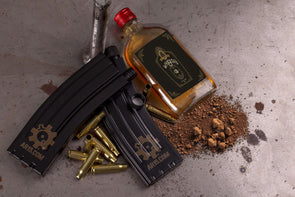 Special AR15.COM Edition AR Mag Replica 7-oz Hip Flask (Set of 2)