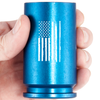 30MM A-10 Warthog Weathered Flag Shot Glass - Blue