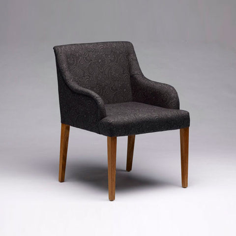 Temperature Austin Chair - Curved Arm
