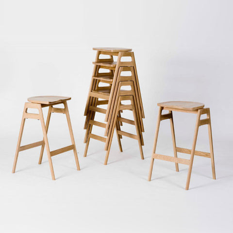 A LIMITED QUANTITY ercol Svelto Stacking Bar Stool