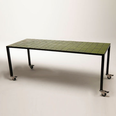 Temperature Tiled Table