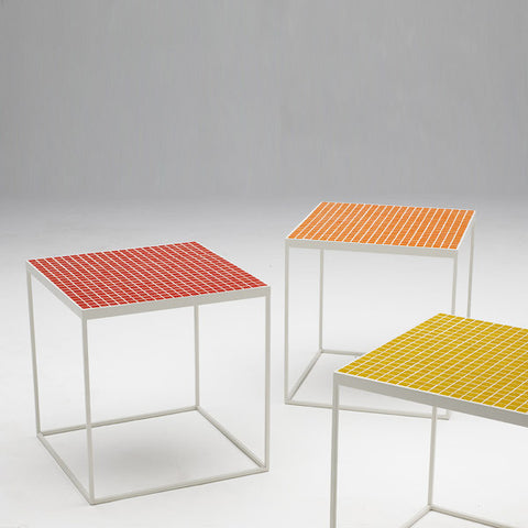 Temperature Tiled Occasional Table