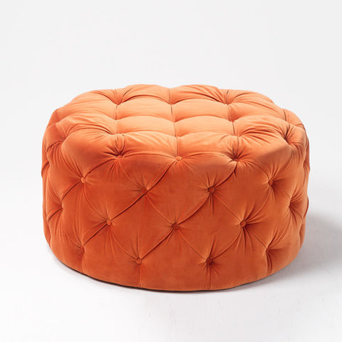 Temperature Chester Ottoman - Round