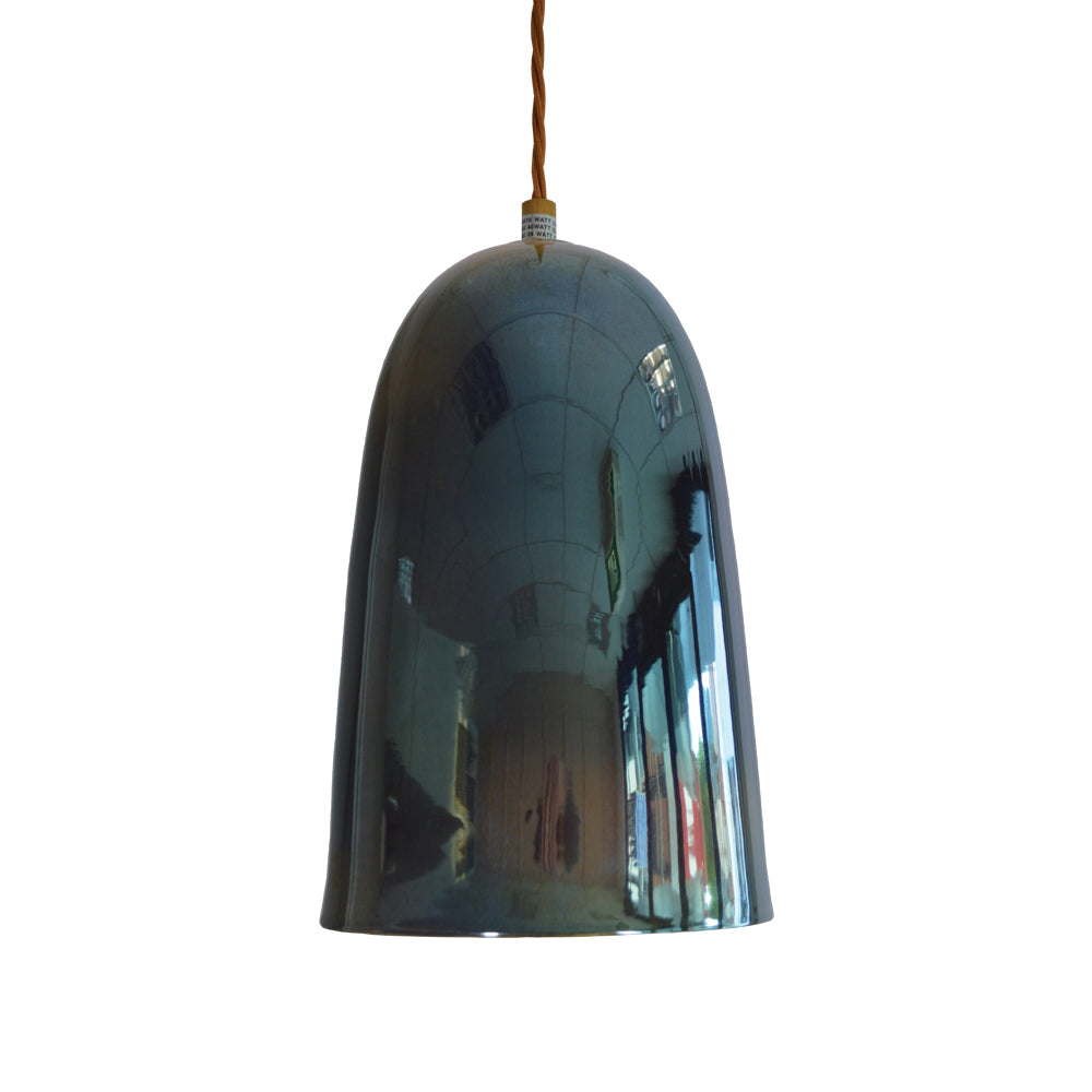 Lyngard Plex Lustered Pendant - Moonlight